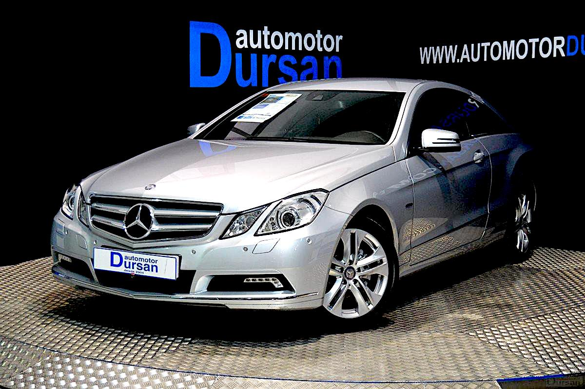 Mercedes Clase E Coupé E 220 CDI Blue Efficiency Avantg. 0000004704