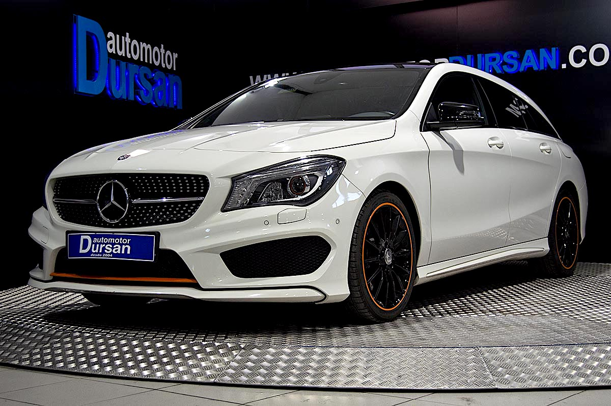 CLA 220D SHOOTING BRAKE  *ORANGE-EDITION*AUTO*TECHO* 0000006187