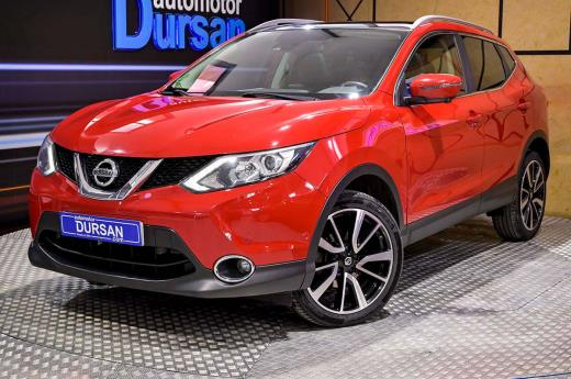 QASHQAI 1.5DCI *NAVI*TECHO*SENSORES*LED*LUNAS *BLUETOOTH*START STOP* 0000007729